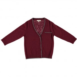 Noah Cardigan - Bordeaux