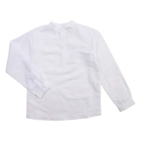 Benjamin Shirt - White Linen