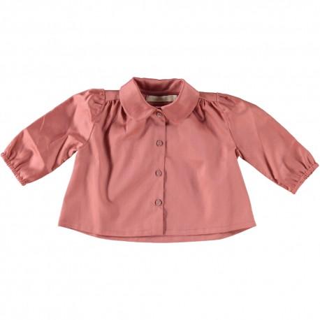 Naja shirt - Coral Organic