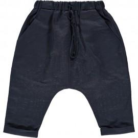 Coco Pant - Navy Linen
