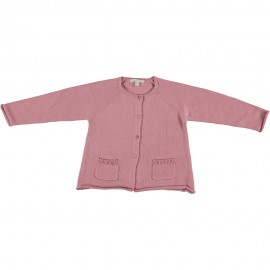 Margaret Cardigan - Rose