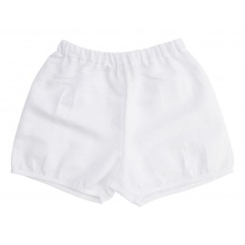 Baby Pant - White Linen