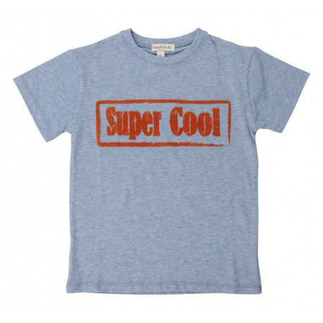 Konrad Tee - Light Blue/Orange