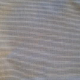 Baby Linen - White Blue Striped