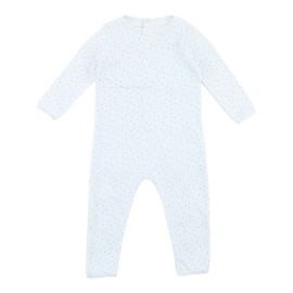 Nirvana Jumpsuit - Cross Stitch/ Pearl Blue