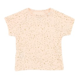 Posh Tee - Vanilla Rose/ Gold Dot