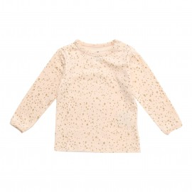 Rovena Tee  Gold Dot - Vanilla Rose Gold Dot