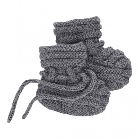 Baby Sock - Grey Melange