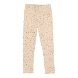 Kimmy Legging - Vanilla Rose Gold Dot