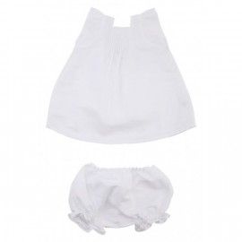 Dukat Top & Pantie - White Lino