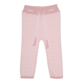 Dagmar Pant - Shimmer Rose/Off White