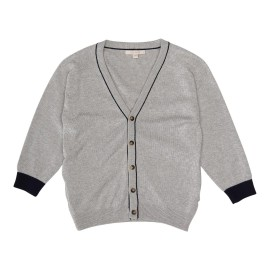 Aron Cardigan - Light Grey Melange