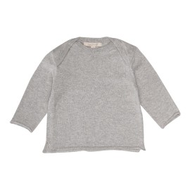 Tahiti Jumper - Light Grey Melange