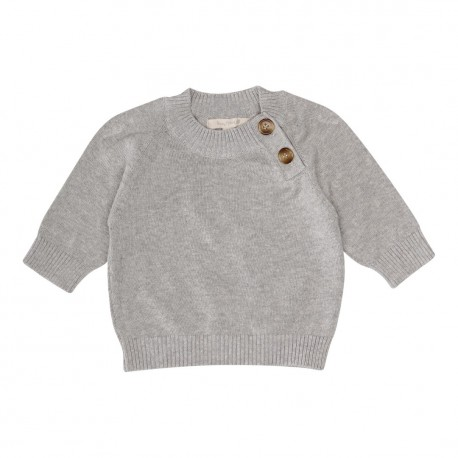 Talbot Jumper - Light Grey Melange
