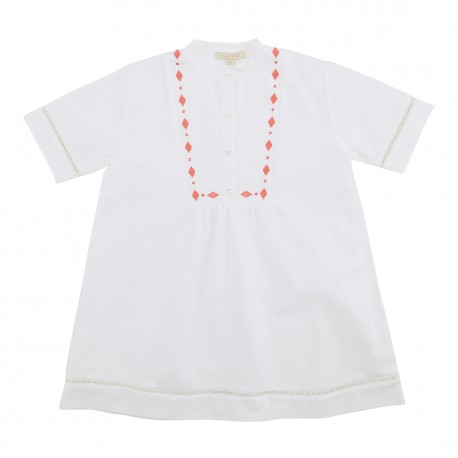 Alberta Dress - White