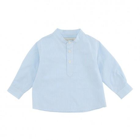 Benjamin Shirt - Capri Stripe