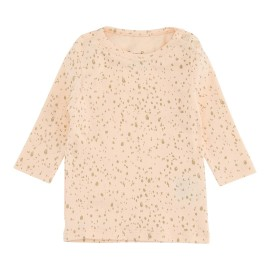 Tiffany Tee - Vanilla Rose Gold Dot