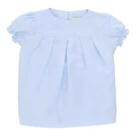 Adelaide Dress - Soft BLue Twillino