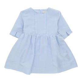 Angelica Dress - Soft Blue Twillino