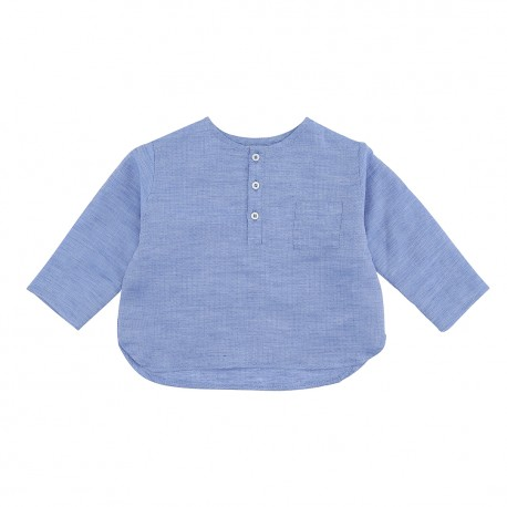 Lucas Shirt - Ocean Blue Savanna
