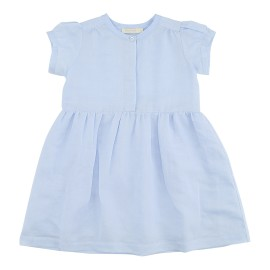 Aimee Dress - Soft BLue Twillino
