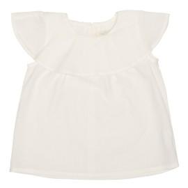 Alissa Top - White Jaquard