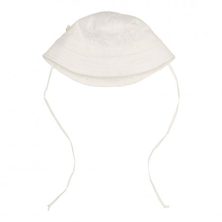 Duncan Sun Hat - Cream Flower Emroidery