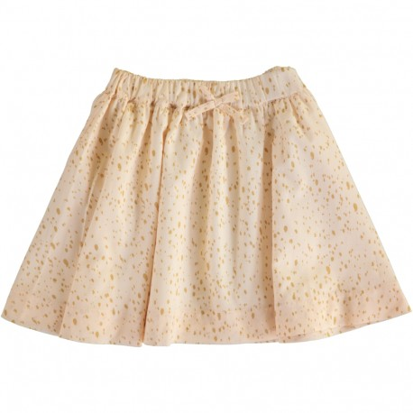 Pixie Skirt - Gold Dot