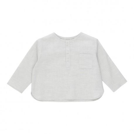 Lucas Baby Shirt - Sand Dollar