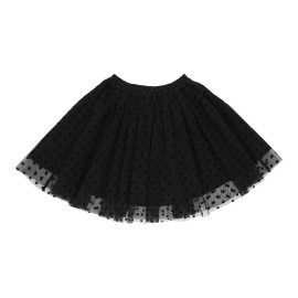 Karen Skirt - Black Tulle