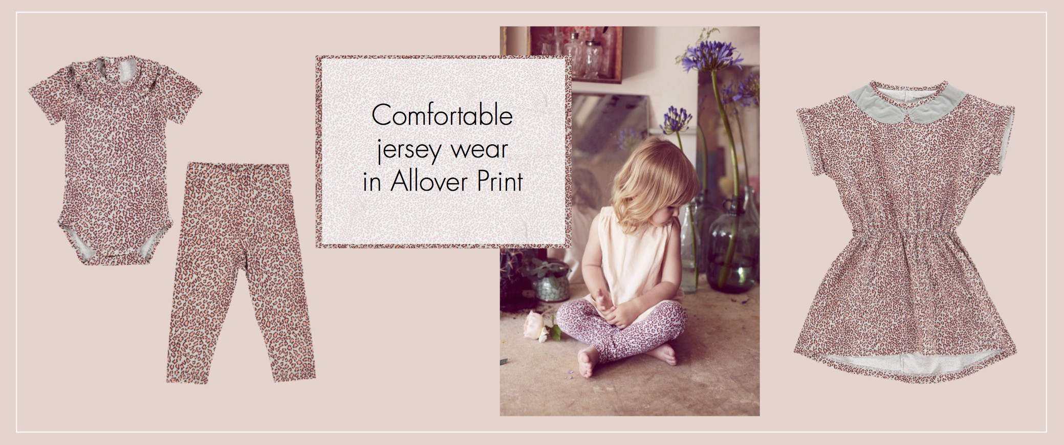 Jersey in Allover Print