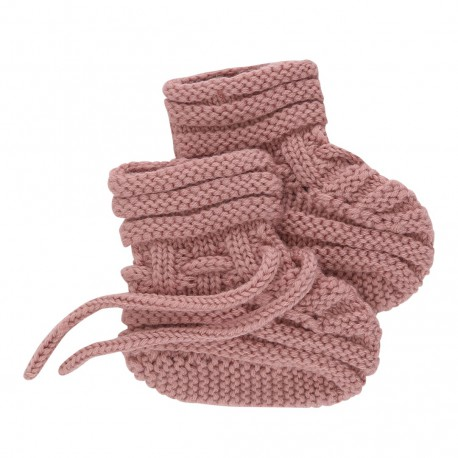 Baby Sock - Rose Tan