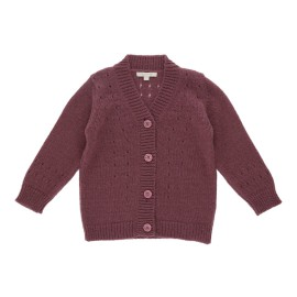 Thelma Cardigan - Dark Cherry