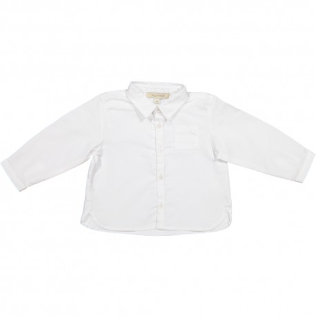 Toby Shirt - White Oxford