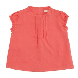 Abigail Tunic - Spiced Coral