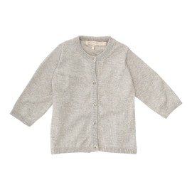 Andrea Cardigan - Light Grey Melange