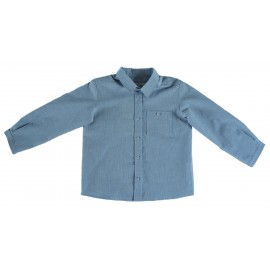 Felix Shirt - Blue Mini Check